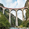 Train Landwasser Viaduct