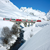 Glacier Express Winter